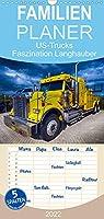US-Trucks. Faszination Langhauber - Familienplaner hoch (Wandkalender 2022 , 21 cm x 45 cm, hoch): Die faszinierenden LKW-Giganten der US-Highways (Monatskalender, 14 Seiten )