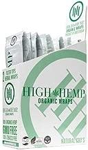 Organic Wraps - Tobacco Free, Vegan, Non-GMO! 6 Flavors to Choose from: Grape Ape, Honey Pot Swirl, Maui Mango, Original, Hydro Lemonade, and Blazin Cherry! (Original, 25 Packs)