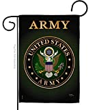 Breeze Decor US Army Garden Flag Armed Forces Rangers Official Licensed United State American Military Veteran Retire Decorative, 13