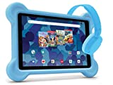 RCA Android Tablet Bundle (10″ Tablet, Audio Books, Bumper Case, Headphones) – Disney Edition (Blue)