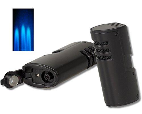 Cozy Zigarrenfeuerzeug Pisa 3x Laser+Bohrer inkl. Lifestyle-Ambiente Tastingbogen