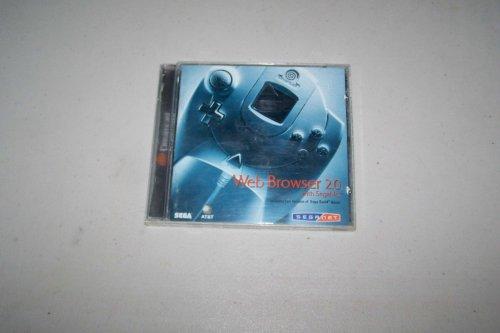 Dreamcast Web Browser 2.0 with SegaNet & full version of Sega Swirl game