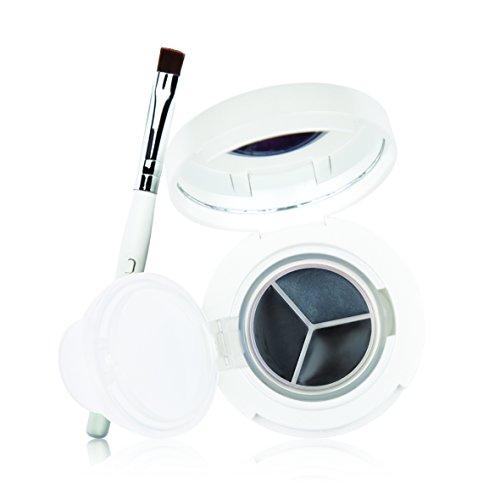 New CID Cosmetics i-Gel Blacks Eyeliner Trio with Brush by New CID Cosmetics