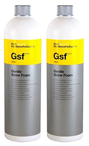 Koch Chemie 2X Gsf Gentle Snow Foam Reinigungsschaum pH-neutral 1 L Liter