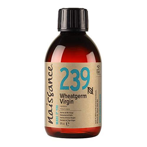 Naissance Aceite Vegetal de Germen de Trigo 250ml - 100% puro, vegano y no OGM …
