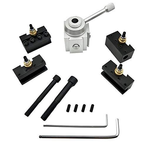 LKK-KK Torno Porta-herramienta, Mini CNC de cambio rápido de herramientas Mensaje kit del tornillo Boring barra de inversión frente Llave Holder