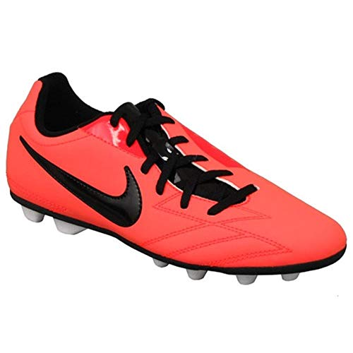 Nike - JR T90 Exacto IV FG - 509015808 - Farbe: Schwarz-Rot - Größe: 37.5 EU