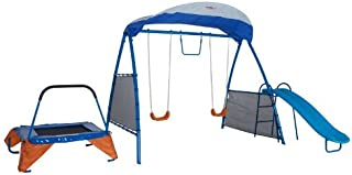 IRON KIDS Premier 100 Fitness Playground Blue
