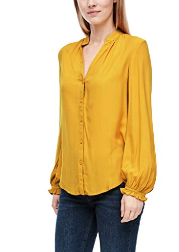 Q/S designed by - s.Oliver Damen 510.10.009.10.100.2043679 Bluse, golden Yellow, 44