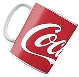 thesecrethome.es Taza Coca-Cola - Taza Original de Desayuno - para Regalar a Amigas (206249-2 Rojo)