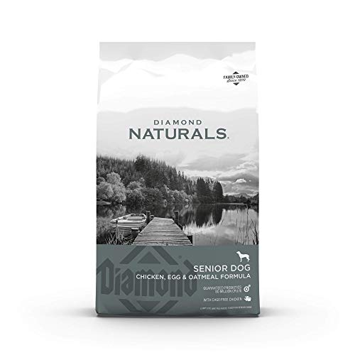 Diamond Naturals Real Meat Recipe Premium Specialty Senior Dry Dog Food