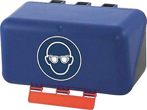 Gebra Aufbewahrungsbox SECU Mini Standard, für Bügelbrillen, blau
