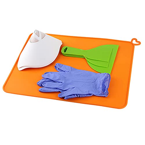 3D Printer Accessories DLP SLA Light Curing 2/4/ 6 inch Shovel Funnel Silicone Pad Parts Kit Printing Cleaning Tools