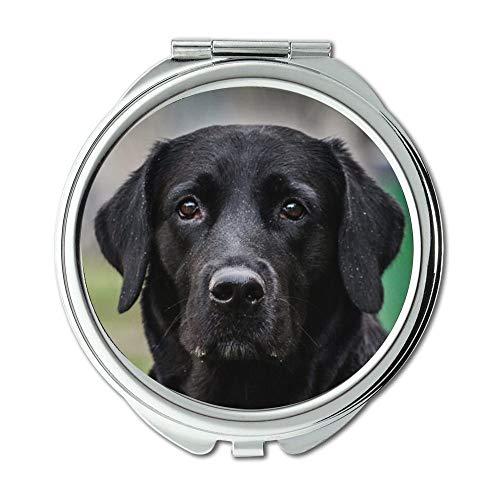 Yanteng Taschenspiegel, Kompaktspiegel Rund Taschenspiegel Doppelseitig, Mississippi Taschenspiegel für Herren/Damen MT 063