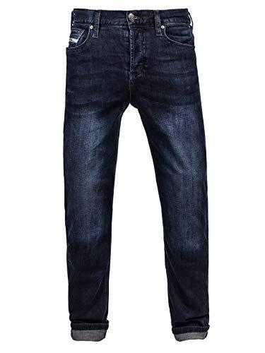 John Doe Original XTM | Motorradhose | Atmungsaktiv | Motorrad Jeans | Denim Jeans mit Stretch | Protektoren sind enthalten