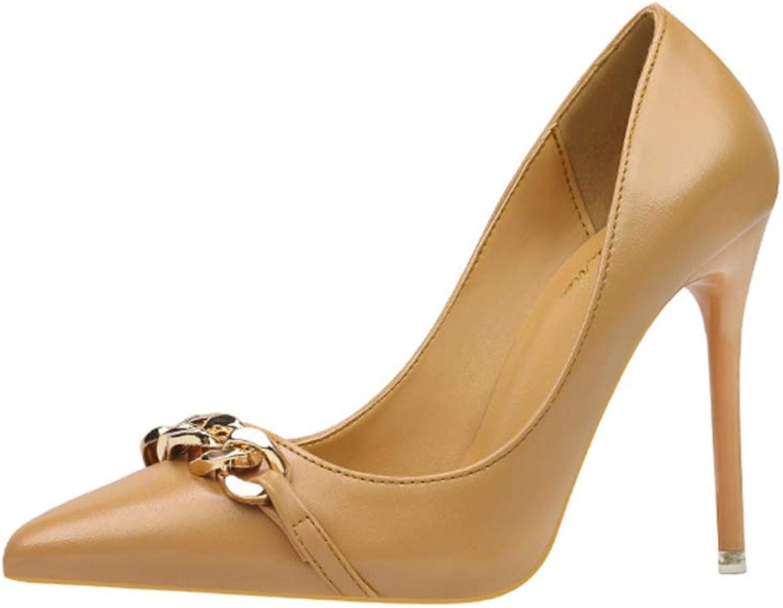 Cici shoes Women's Classic Fashion Pointed Toe High Heel Dress Pumps shoes