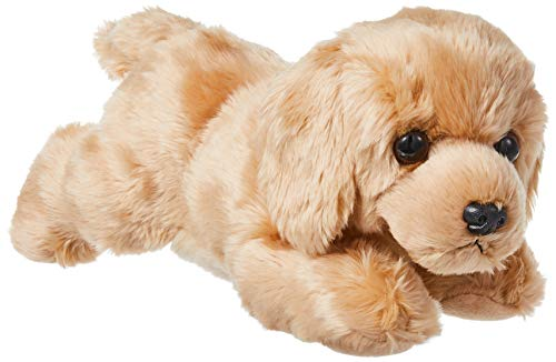 Aurora World Inc Flopsie Plush Goldie Labrador Dog 12quotMulticolor