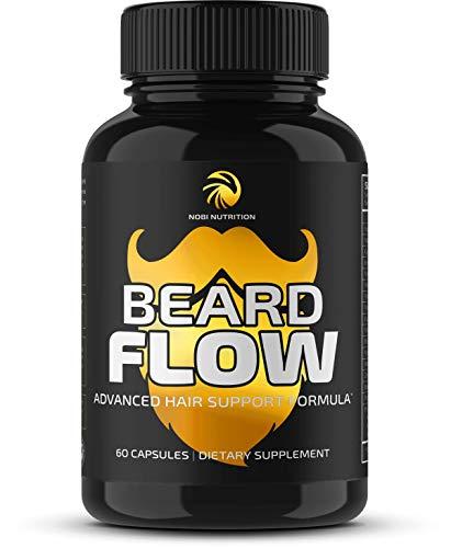 Nobi Nutrition Premium Beard Growth Supplement for...