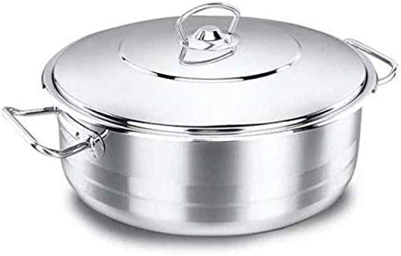 Hay más marcas de productos de alta calidad. Korkmaz Astra Casserole Olla Olla Olla Utensilios Cocina Plano Compatible con Inducción Plata 26cm Acero Inoxidable A1907  el mejor servicio post-venta