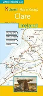 Xploreit Maps of County Clare, (Ireland) 1:80K