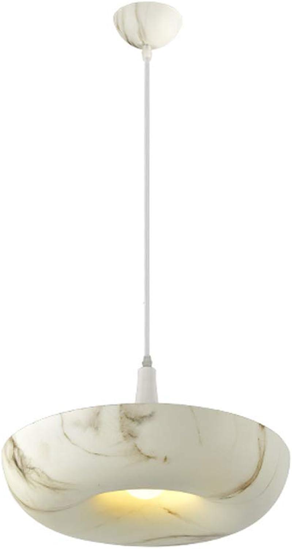 WANGLucky Nordic lámpara de Madera de imitación de una Sola Cabeza lámpara Colgante de Aluminio Ajustable Sala de Estar Comedor Dormitorio Sola Cabeza lámpara de Techo Decorativa (Color   D)
