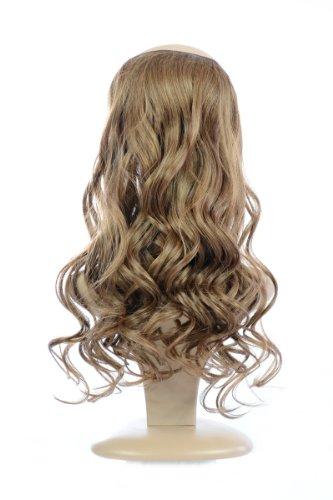 Hair By Miss Tresses haarverlenging, gegolfd, gemakkelijk aan te brengen, lichtbruin