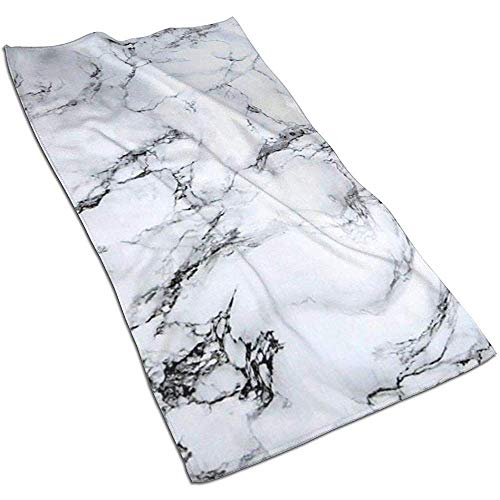 EXking biologische graniet marmer tegel afdrukken handdoeken extra groot gezicht handdoeken sneldrogende, lichtgewicht