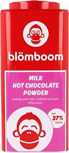 Blömboom Milk Hot Chocolate Powder, Vollmilchschokoladenpulver, BIO, Dose (200g)
