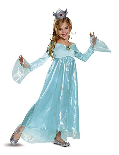 Rosalina Deluxe Costume, Blue, Medium (7-8)