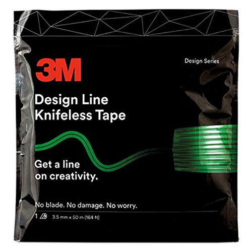 Finest Folia Knifeless Tape Folie Schneiden messerlos ohne Messer Auto saubere Linien Carwrapping (Design Line Tape 3 mm x 50 m (G119))