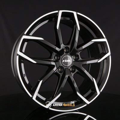 RIAL Llanta de aluminio Lucca 6.5J x 16 pulgadas ET 20 LK 4 x 108