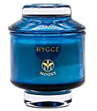 MOOXY - Hygge Candle   Orange Cedarwood & Clove Essential Oil Soy Candle   8oz Scented Candle Jar   45 Hours Candles Long Burning   Stress Relief Candles   Aromatherapy Candle   Man Scented