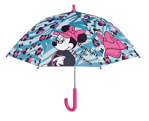 Minnie Mouse Kinderparaplu, 42 cm, handmatig, Safety Open Minnie Camping en wandelen, meisjes meerkleurig (meerkleurig), eenheidsmaat
