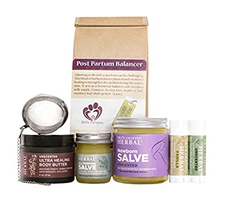 New Mama Gift, Natural Postpartum Care, Postpartum Care Package