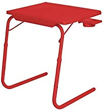 Multi - Table Multi Utility Table Red Color with Cup Holder