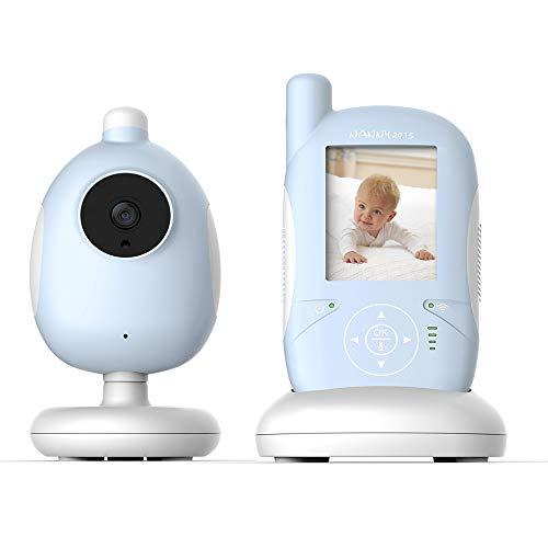 1080p HD-baby menoitors met temperatuur en geluid alarm, bewakingscamera 2-weg audio bewegingsdetectie voor thuis/kantoor/Nanny/dier