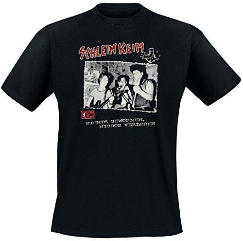 Schleimkeim – Nichts gewonnen, Nichts verloren T-Shirt, schwarz, Grösse S