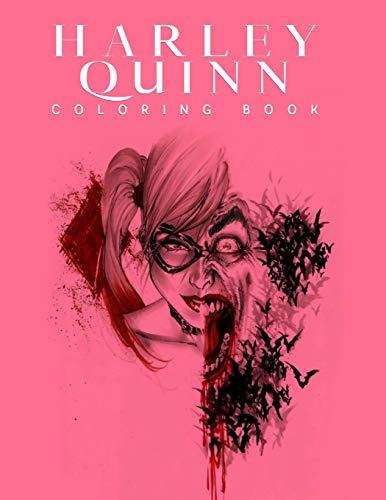 41BeVxHDdGL Harley Quinn Coloring Books
