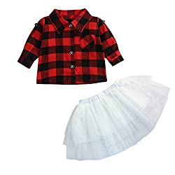 ae9d6153 10 Cute Plaid Shirts for Toddler Girls You Can Buy on Amazon - Plaid ...