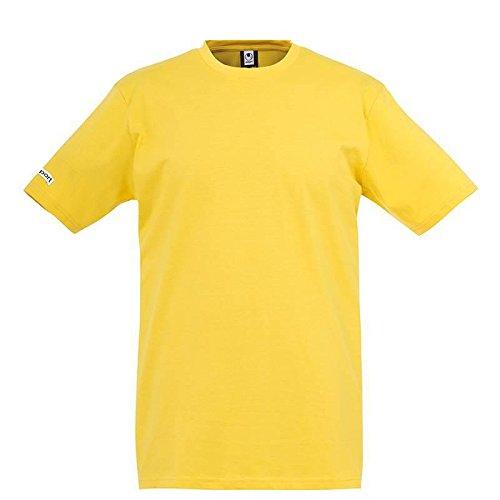 Uhlsport - Equipe - T-shirt - Garçon - Jaune (maïs) - FR:13-14 ans (164 cm)