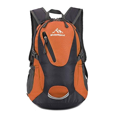 SNOWHALE Cycling Hiking Backpack Water-Resistant Daypack FKC0618 (Orange)