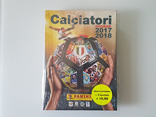 Panini Album calciatori 2017/18 vuoto cartonato + set 746 figurine da attaccare