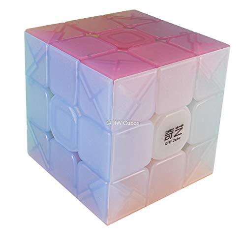 FAVNIC Cubo de Velocidad sin Pegatinas Cubo mágico 3x3x3 Puzzles Juguetes