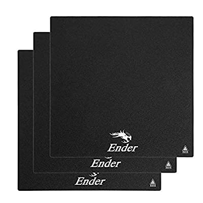 3PCS Creality Ender 3 Replacement 3D Printer Build Surface Plate Sticker 235 * 235mm 3D Printer Plate Sticker for Creality Ender 3 Ender 3 Pro Creality CR-20 Ender 5