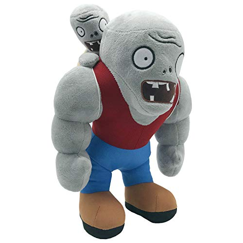 Muscle Zombie Plush Toy, Plant vs. Zombie Gargantuar Stuffed Doll, You can use it as a Birthday, Easter, Christmas and Other Holiday Gifts, 12""