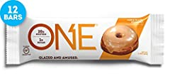 THE ONE PROTEIN BAR: Congratulations, You've Found the ONE. Protein bar, that is. This Gluten-Free Maple Glazed Doughnut Protein Bar tastes as decadent as it sounds, but with 20g of protein and just 1g of sugar, there's nothing to feel guilty about. ...