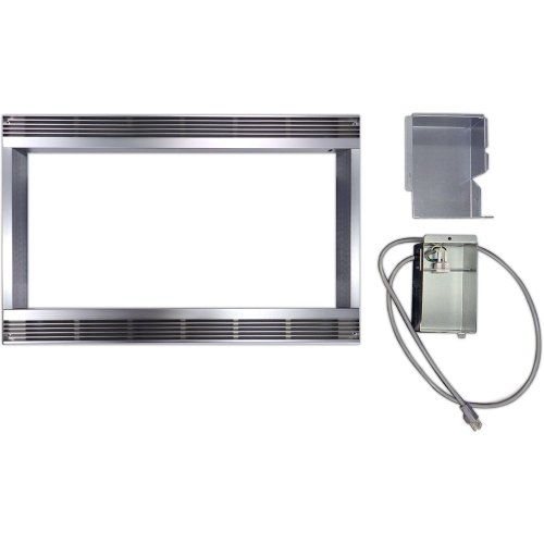 Sharp RK51S27 27-inch Built-In Trim Kit for R530ES and R530BS Microwaves, Stainless