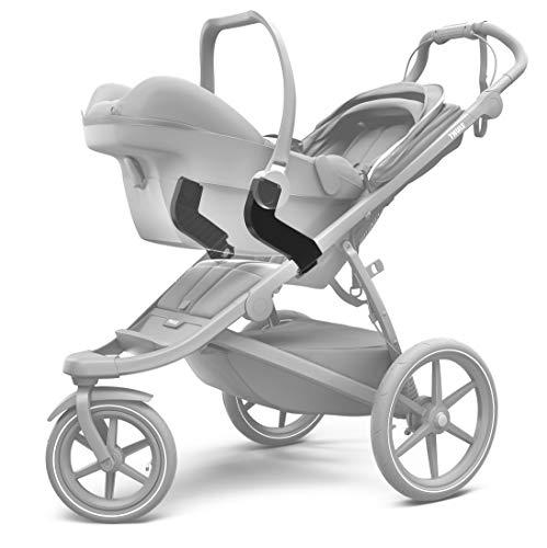 Thule 20110740 Adaptateur pour siège auto Unisexe Enfants, Noir, Taille unique