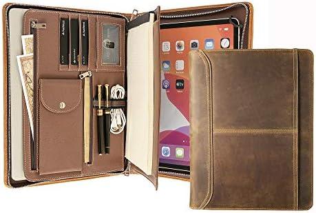 Custom iPad Portfolio Case Personalized Portfolio for Men Women Engraved Padfolio with Tablet product image