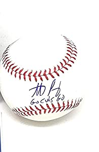 Anthony Rizzo Chicago Cubs Signed Autograph Official MLB Baseball INSCRIBED GO CUBS GO MLB Authentic Certified